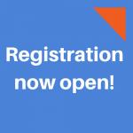 Registration Now Open button